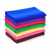 9pcs 9 Color Microfiber Soft Absorbent Wash Towels Car Auto Care Screen Window Cleaning Cloth