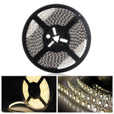 5M Flexible 3528 LED Strip Light Neon Tape Waterproof Warm White 12V for Car Home Decoration