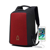 15.6 İnç Laptop Sırt Çantası Çanta Seyahat Çanta Öğrenci Çanta Harici USB Şarj Portu ile