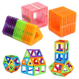 32PCS Magnetic Blocks Magnet Tiles Kit Building Jogar Toy Boys Girls Kids Gift
