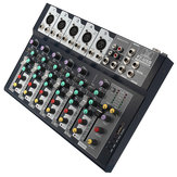 7 Channel Professional Stage Live Studio Audio Mixer USB Mixing Console DJ KTV