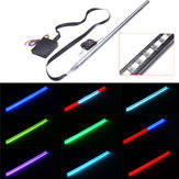 56 cm RGB LED Light Strip Car Under Hood Scanner Cavaleiro Rider Strobe Lamp com Controlador remoto