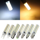 G4/G9/E11/E12/E14/E17/BA15D Dimmable LED Bulb 4W 80 SMD 4014 Corn Light Lamp AC 220V
