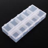 10 شبكات شفاف صندوق تخزين أجزاء أجزاء الحاوية تشكيلة تشكيلة