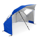 IPRee ™ Outdoor Folding 1.2m Fishing Beach Umbrella Tents Protection UV À vent