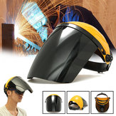 Adjustable Welding Helm ARC TIG MIG Welding Lens Grinding Mask + Kacamata Safety