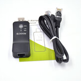 USB 300 Mbps Wireless WiFi Ripetitore Rete Wifi Extender Expander Support AP Mode Adapter