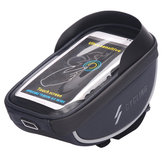 BIKIGHT 5.8/6 Inch Bike Bag Bicycle Front Tube Bag Waterproof Cycling Portable Storage Bag Phone Touch Screen Bag