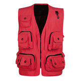 Multi Pockets Professional Photography Outdoor Fishing Vest
