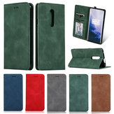 Bakeey Flip Shockproof Card Slot With Magnetic PU Leather Full Body Protective Case For OnePlus 7 PRO