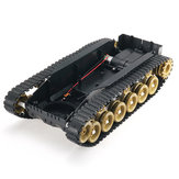 3V-9V DIY Shock Absorbed Smart Robot Tank Chassis Crawler Car Kit With 260 Motor For Arduino SCM