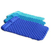 Outdoor Double Self-inflatable Air Mattresses Folding Sleeping Mat Picnic Pad Outdoor Camping