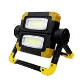 700lmluzdeacampamentoàprova d 'água ip65 luz de trabalho usb lanterna recarregável lanterna de emergência de caça