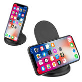 Wireless Qi Fast Charger Stand Pad For iPhone 8/8P iPhone X Galaxy S8/ S8+ Phone