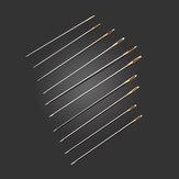 100 قطع الذهبي ذيل إبر حجم 24 ل 11ct التطريز النسيج عبر غرزة