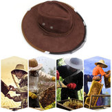 Anti Bee Cap Cowboy Hat Beekeeping Protective Hat Beekeeper Tool Anti Insect Net