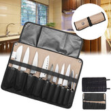 Chef Cutter Tool Borsa Roll Borsa Carry Case Borsa Kitchen Portable Storage Black Coffee