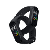 Original Xiaomi Mi banda 4 AMOLED Pantalla a color Pulsera bluetooth 5.0 5ATM Larga espera Smart Watch Versión internacional