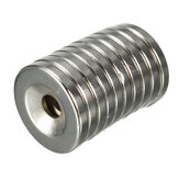 10pcs N35 20x3mm Countersunk Ring Magnets With 5mm Hole Strong Neodymium Disc Magnet