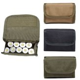 Tactical 600D 10 Ronde Shotgun Shotshell Holder Molle Tas voor 12 Gauge / 20G Magazine