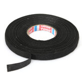 Car Wiring Loom Harness Adhesieve Doek Stof Tape Cable Loom 9mm x 25M Zwart