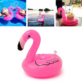 5PCS Opblaasbare Flamingo Drink Kan Houder Party Pool Home Decor Kids Toy