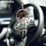 Retro Dreamcatcher Home Furnishing Car Interior Decoration Feather Crafts Bronze Pendant Gift Xr032