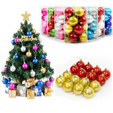 16PC 6/4CM Christmas Trees Xmas Hanging Balls Bauble Party Decorations Ornaments