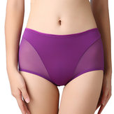 Sexy Mesh Pure Cotton Crotch Breathable Panties