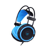 H7 3.5mm com fio RGB Light Gaming Headphone Stereo Sound Headset para PC Game