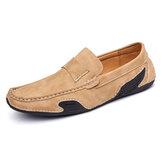 Original              Menico Men Piel Genuina Slip On Soft Casual Flats