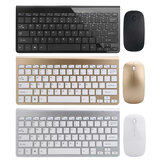 Ultradünnes 2,4 GHz Wireless Keyboard und 1200 DPI Wireless Ultra Thin Mouse Combo-Set mit USB-Empfänger für PC-Computer