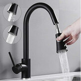 360° Kitchen Basin Sink Swivel Pull Out Faucet Sprayer Hot Cold Water Mixer Tap