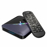 A95X F3 Amlogic S905X3 4 GB RAM 32GB ROM 5G WIFI bluetooth 4.0 Android 9.0 4K 8K TV Box z 64 RGB Light