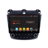YUEHOO 10.1 Inch 2 DIN for Android 8.0 Car Stereo 2+32G Quad Core MP5 Player GPS WIFI 4G AM RDS Radio for Honda Accord 2003-2007