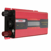 XUYUAN 2000W/4000W/6000W Solar Power Inverter DC 12V to AC 110V Car Converter Modified Sine Wave with Digital Display