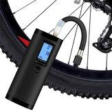 Xmund XD-BP4 3 en 1 LCD Pantalla Coche Bomba Moto Bicicleta Camión Bicicleta USB Recargable Autobomba eléctrica para viajes Mini bomba de aire