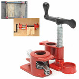 1/2 Inch Wood Gluing Pipe Clamp Set Heavy Duty Fixture Carpenter Woodworking Tools