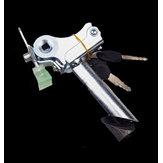 BIKIGHT Bike E-Bike Seat Tube Reversal Saddle Tube with Lock Seat Tube Foldable Anti-theft Saddle Tube Rod Fittings Accessories