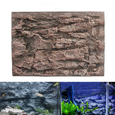Aquarium 3D Foam Rock Stone Fish Tank Background Backdrop Reptile Board Decorations