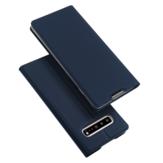 DUX DUCIS فليب مغناطيسي مع محفظة بطاقة حامل حقيبة واقية ل Samsung Galaxy S10 5G