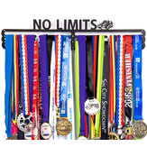 Urban Active Sports Medal Holder No Limits Medal Display for 60 Medals Display Box