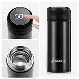 KCASA K916 300ML Smart Stainless Steel Insulation Vacuum Bottle LED Touch Screen Temperature Display Vacuum Cup IPX7 Waterproof Thermal Bottle