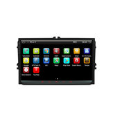 YUEHOO 9 Pollici 2 DIN per Android 8.0 4 Core 2 + 32G Car Stereo Radio Player GPS Touch Screen 4G bluetooth FM AM RDS Radio per VW Skoda