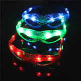LED Glowing Glasses Flash Luminous Blind Eyewear Party Light Wedding Carnival Dance Bar Christmas Toy