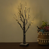 60cm LED Snow Tree Lamp Night Light Christmas Decor voor Home Lighting Festival Holiday