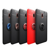 Bakeey Xiaomi Redmi 8A 360º Rotating Magnetic Ring Holder Soft TPU Shockproof Protective Case