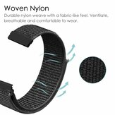 20mm Nylon Canvas Watch Band Watch Strap Replacement for Amazfit GTS Smart Watch