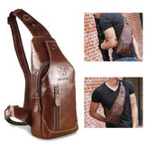 Bullcaptain Bag Men Leather Business Casual Bag