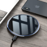 KUULAA 10W LED Indicator Fast Charging Pad Qi Wireless Charger For iPhone XS Max XR Huawei P30 Pro Mate 30 5G Xiaomi Mi9 9Pro 5G S10+ Note 10 5G